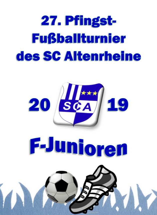 F Junioren Pfingstturnier SC Altenrheine